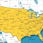 Political Map Of The Continental Us States Nations Online Project