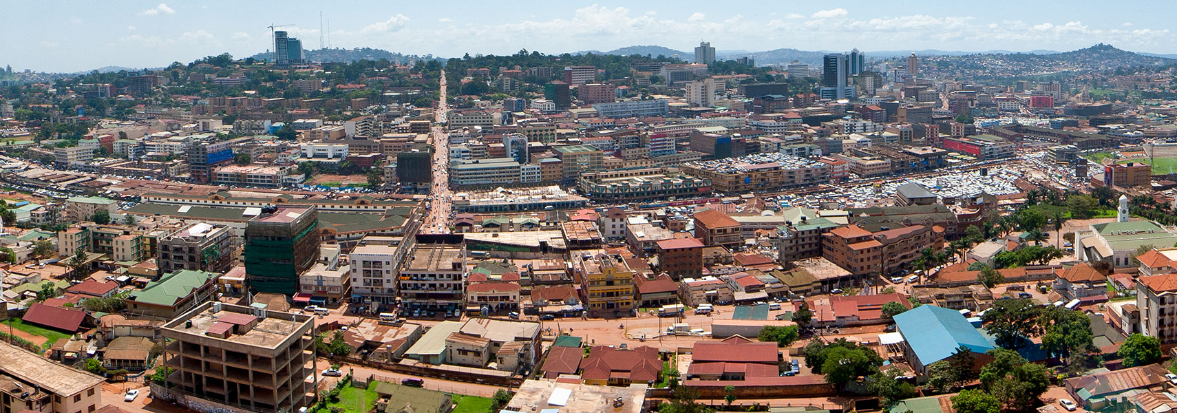 Google Map of the City of Kampala  Uganda   Nations Online Project     Satellite View and Map of the City of Kampala  Uganda