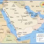 Political Map Of The Arabian Peninsula Nations Online Project