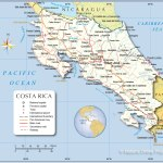 Detailed Map Of Costa Rica Nations Online Project
