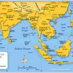 Map Of South East Asia Nations Online Project