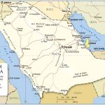 Political Map Of Saudi Arabia Nations Online Project