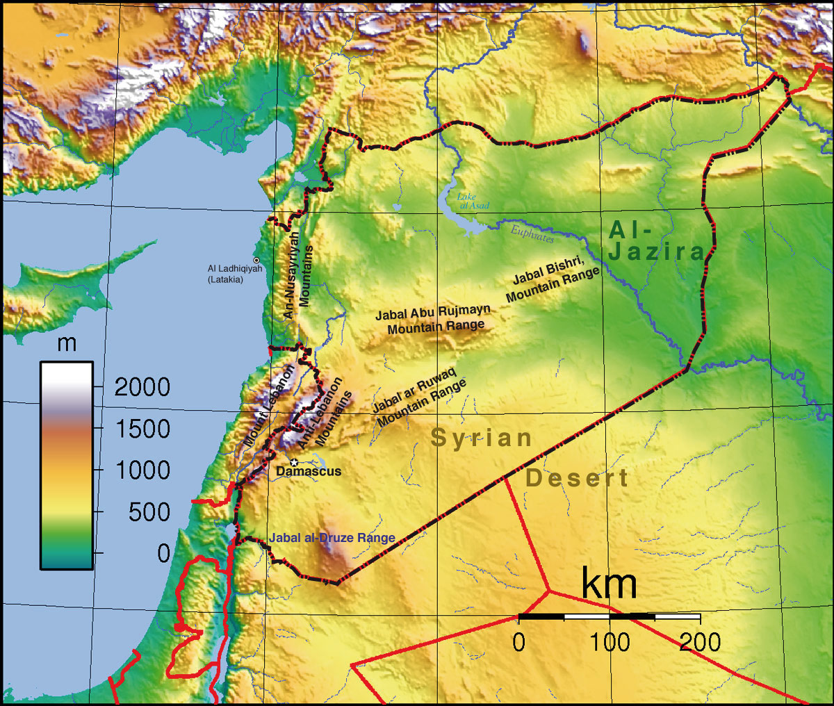 Syria Updates Topographic Maps With Russian Assistance Syria 360