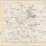 Map Of The State Of Colorado Usa Nations Online Project