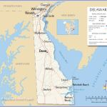 Map Of The State Of Delaware Usa Nations Online Project