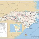Map Of The State Of North Carolina Usa Nations Online Project