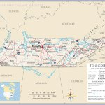 Map Of The State Of Tennessee Usa Nations Online Project