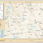 Map Of The State Of Wyoming Usa Nations Online Project