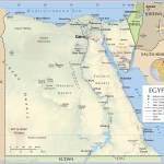 Political Map Of Egypt Nations Online Project