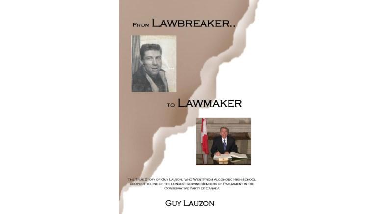lauzon launching autobiography  u2014  u2018from lawbreaker to