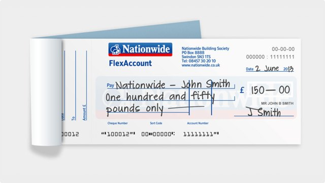 Help with cheques  Nationwide