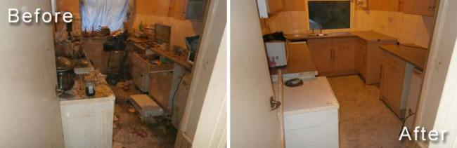 Verminous House Clearance Photos