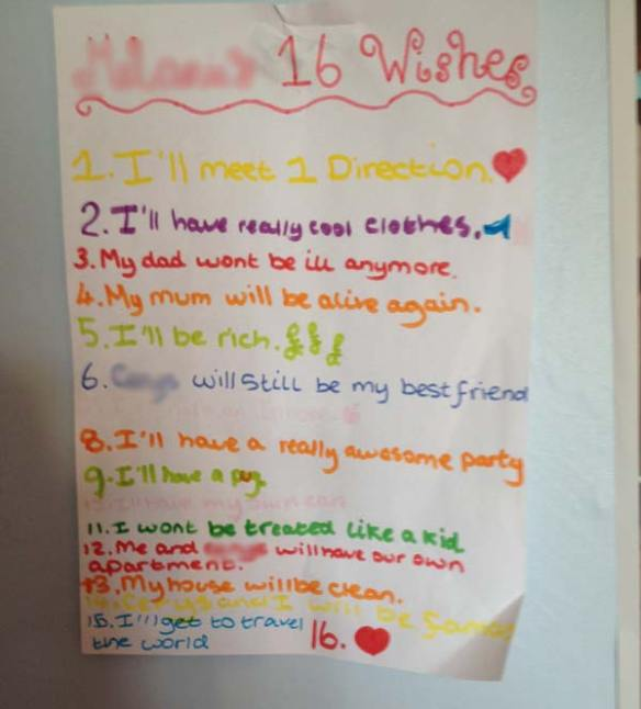 House Clearance Wish List