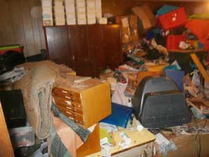 Newcastle Hoarders House Clearance Declutter & Clean