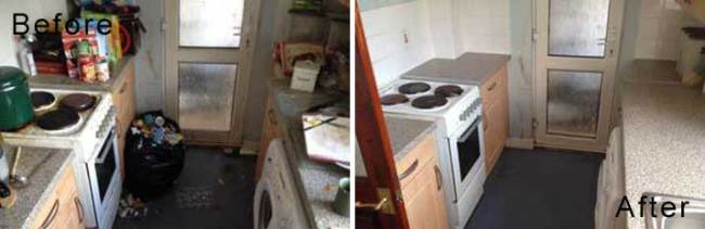 Property Cleaning Before & After Photos