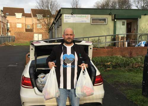 Nationwide House Clearance Toon Aid Newcastle West End Food Bank