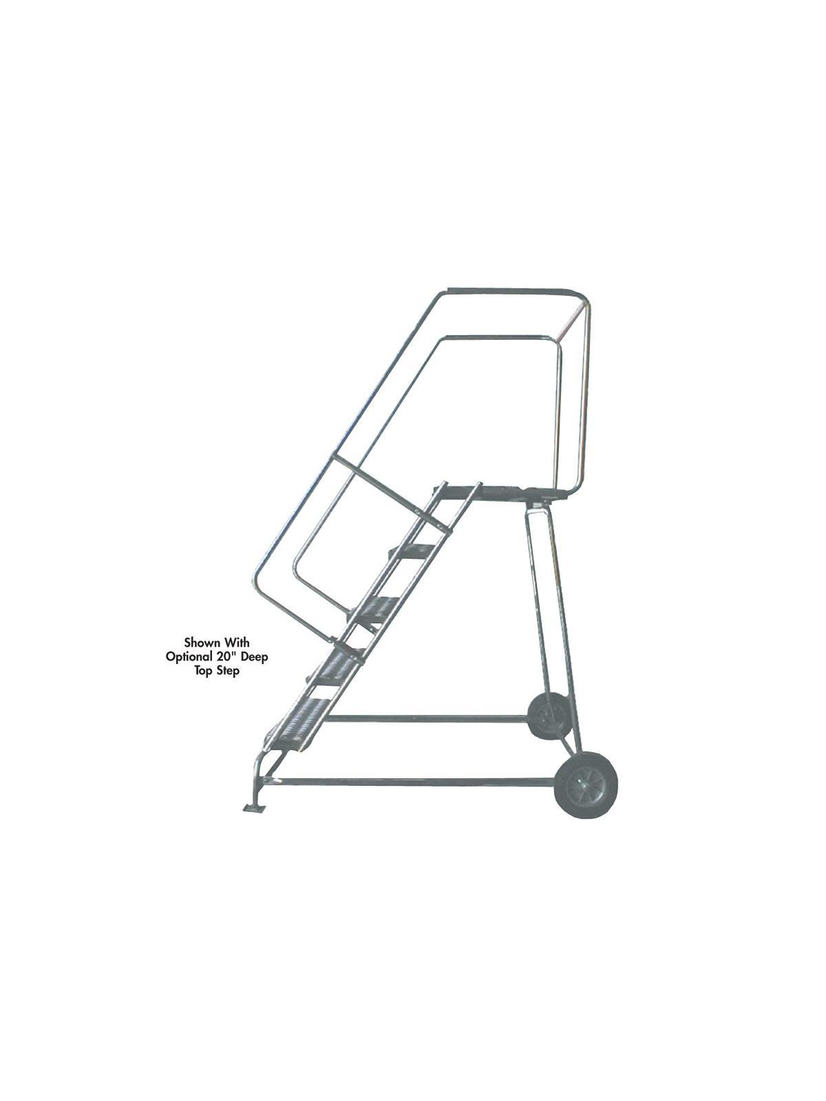 Aluminum Ladders Wheelbarrow Style At Nationwide