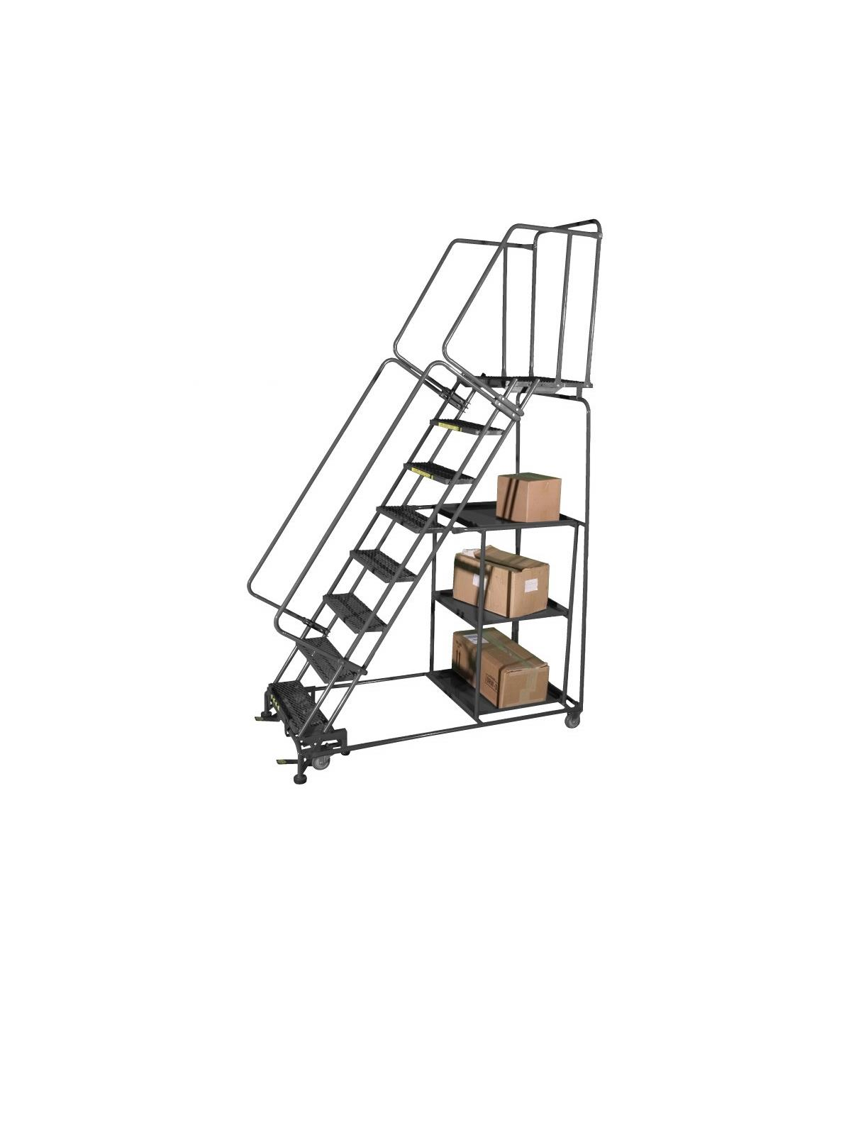 Stock Picking Ladders At Nationwide Industrial Supply Llc