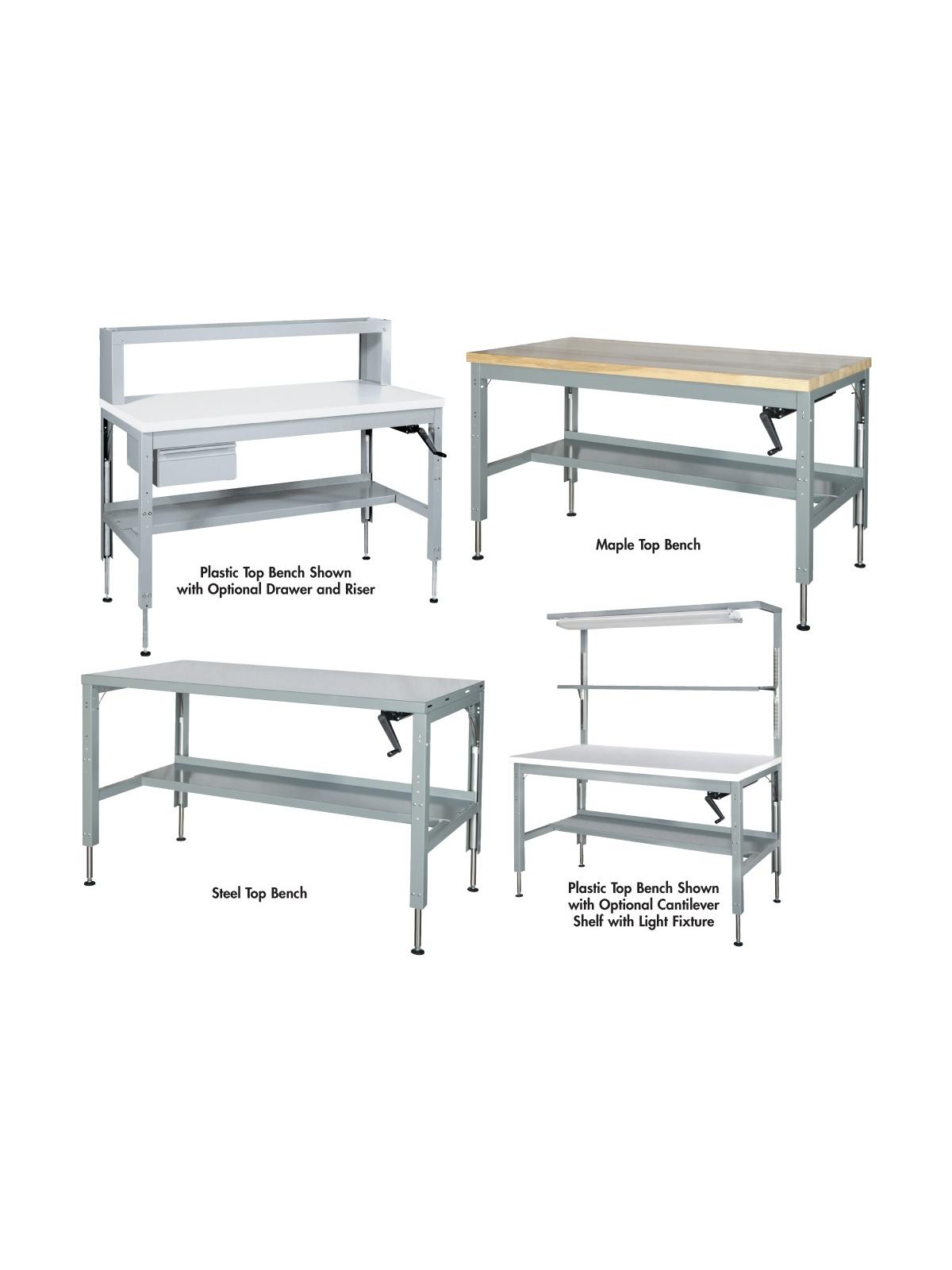 Hydraulic Ergonomic Benches At Nationwide Industrial