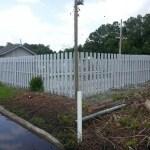 Staining Painting Exterior Fence Savannah Georgia
