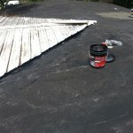 Roof Repair Temporary (Roof is improperly installed)