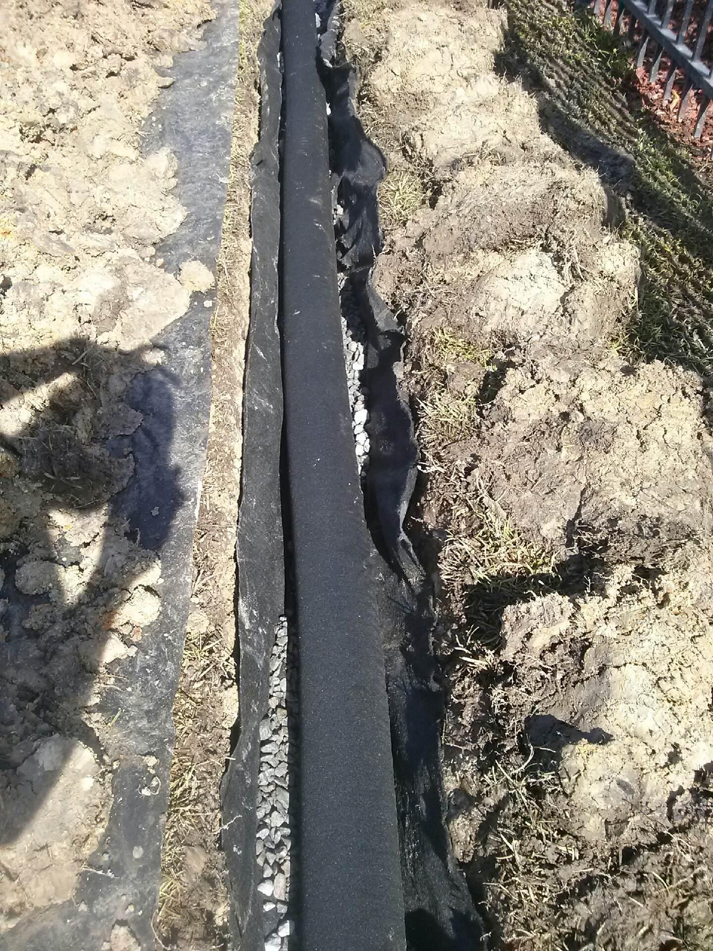 drainage french drains savannah pooler richmond hill georgia