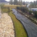 French Drain Installation Savannah Pooler Richmond Hill Georgia (8)