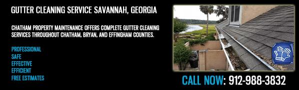 Gutter Cleaning Savannah Georgia