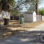 chain link fence repair after