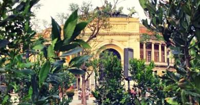 Giardino con vista sul Politeama: il centro di Palermo si tinge di verde