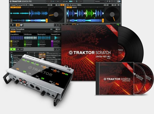 Image result for Traktor Pro Scratch