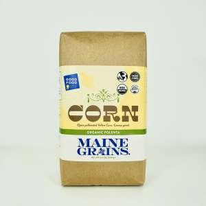 Maine Grains Organic Coarse Polenta, 2.4 lbs