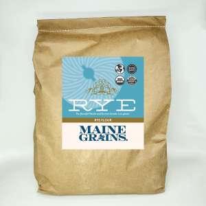 Maine Grains™ Organic Rye Flour, 25 lbs