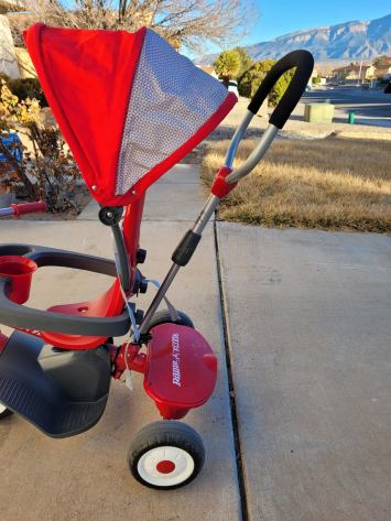 radio flyer 4 in 1 trike review