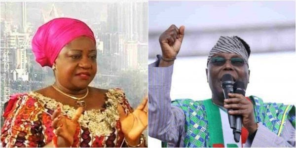 Atiku Approaches Court As Lauretta Onochie Fails To Pay N500m, Apologise