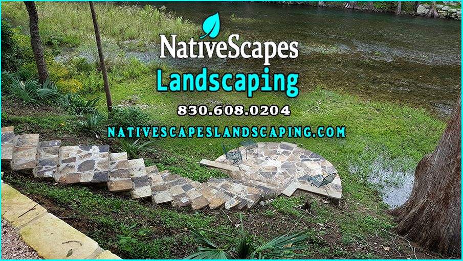 Steps And Terraces To The River Nativescapes Landscaping New