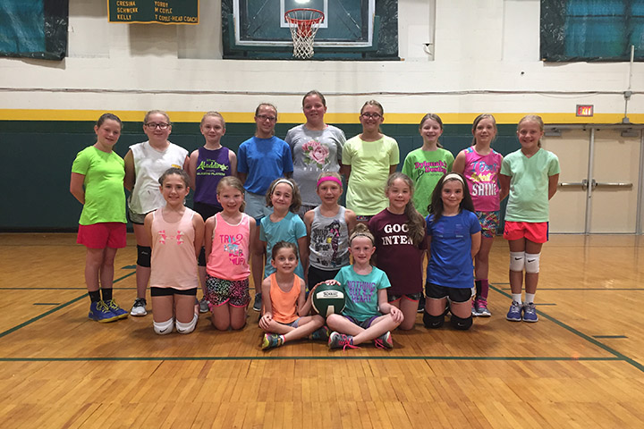 volleyball camp 2017 younger group
