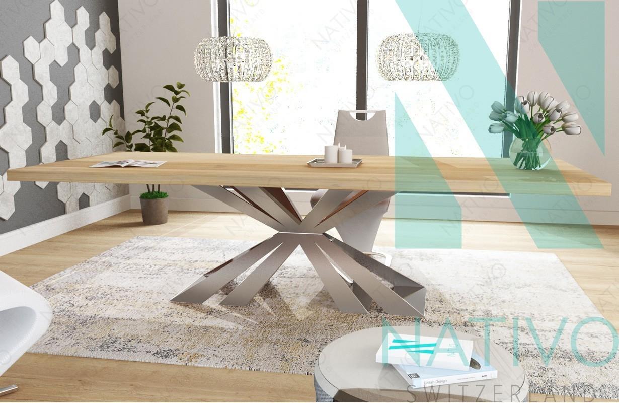 Table Design ARTHUR NATIVO Mobilier Design Suisse