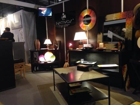 Stand Nativos au salon Art et Décoration Paris 2015