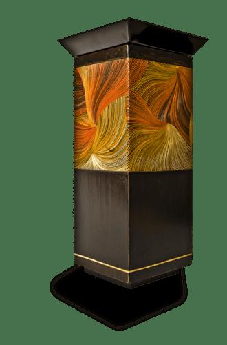 luminaires lampes bois fibres de blé nativos artisanat