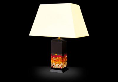 Collection de luminaires sud-américaines. Pieds de lampe sur mesure.