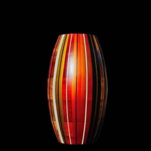 vase bois résine d'Amazonie Nativos