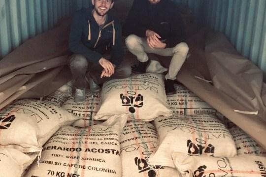 Importation conteneur café