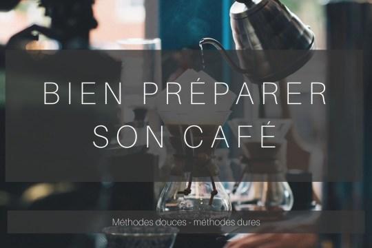 Bien préparer son café. Cafetière filtre, à piston, à l'italienne, orientale...