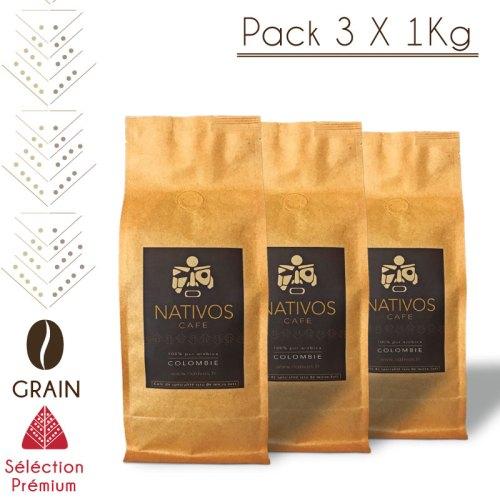 Pack Premium café colombien de spécialité en grain Micro-lot