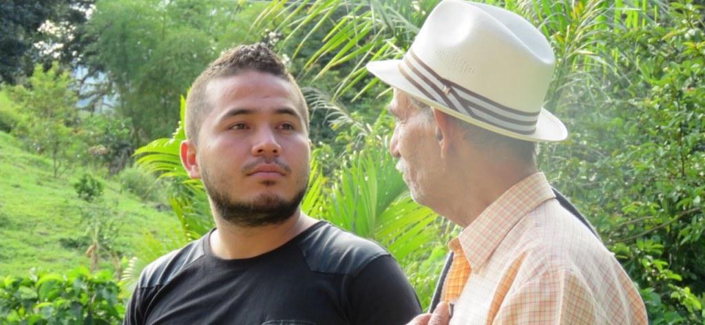 Transmission de savoir-faire entre génération de caféiculteurs. Colombie