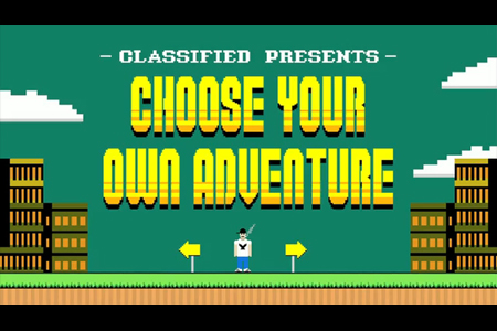 Choose Your Own Adventure books