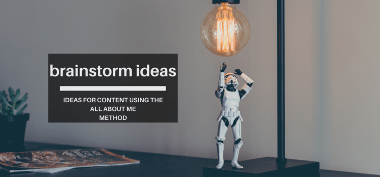 How to brainstorm ideas for content