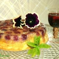 Clafoutis alle ciliegie, piccolo ragù di ciliegie al vino rosso