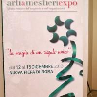 Arte e Food a Arti & Mestieri Expo